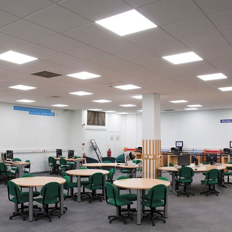 13. led panel light in school-Application