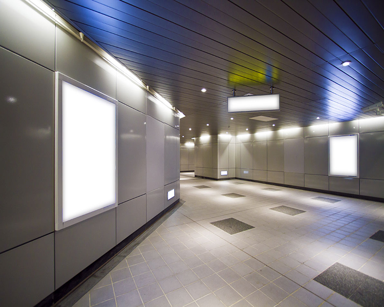 10. wall mounted led panel installation example